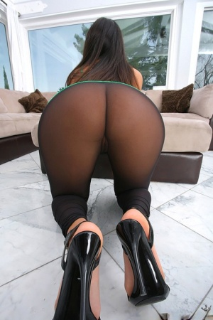 Pantyhosed Butts